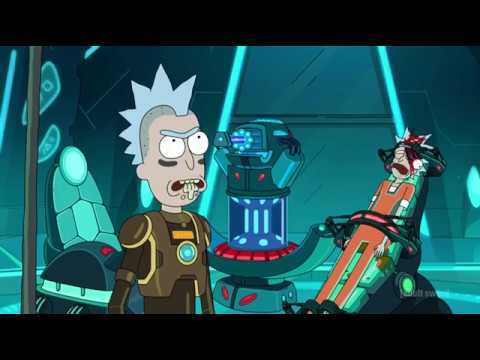rick and morty season 3( rick escapes the galactic federation)