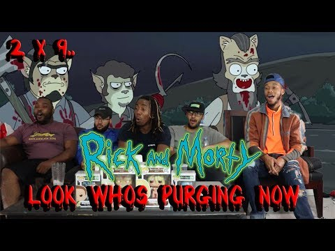 "Rick And Morty Season2 Episode 9 ""Look Who's Purging Now"" Reaction:Review"