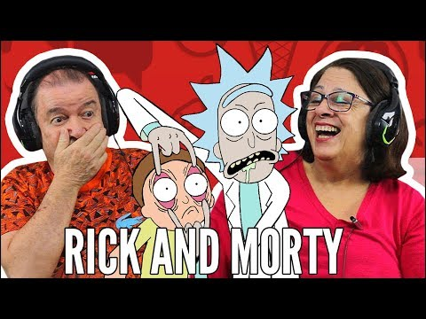IDOSOS REAGEM A RICK AND MORTY