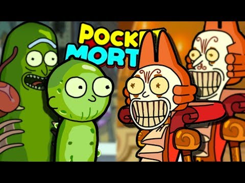 PICKLE RICK & CUCUMBER MORTY | Pocket Mortys Multiplayer (Episode 6) | Gameplay, Reaction, Spoilers