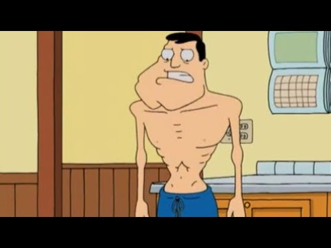 Stan is Anorexic - American Dad