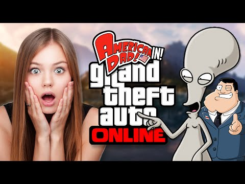 Roger The Alien Plays GTA!