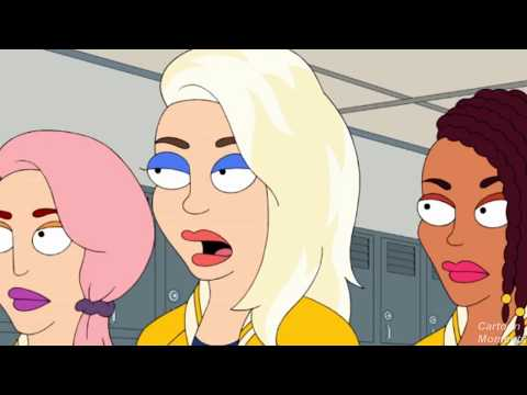 Francine is A Golden Girl - American Dad