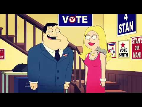 Stan Smith is running for mayor - American Dad