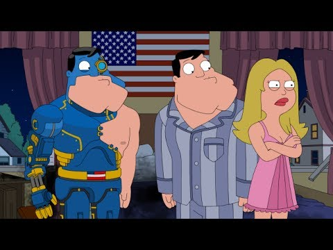 American Dad - Stan Kills His Cyborg
