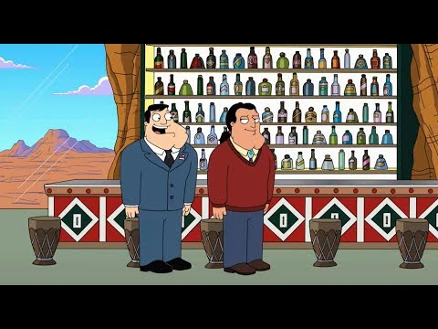 American Dad -  Rusty's richer than stan
