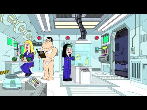 American dad i saw the sign alien parody