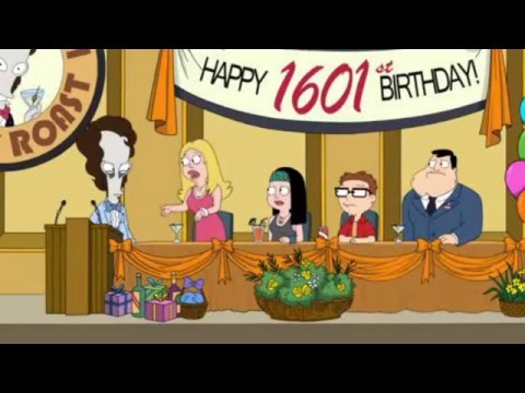 American Dad Roger's Roast (Uncensored)