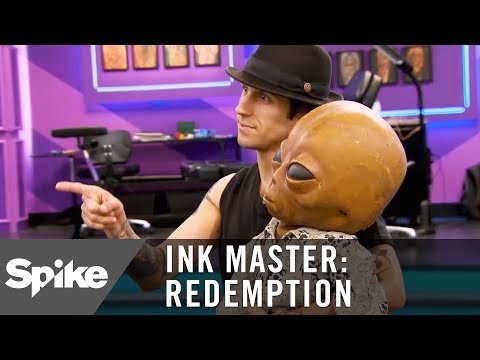 """Roger the Alien"" Approves of Mike McAskill's Redemption Tattoo 