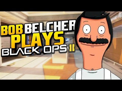 Bob Belcher Plays Call of Duty Black Ops 2
