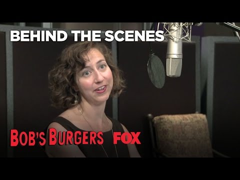In The Recording Booth With Bob's Burgers | Season 3 | BOB'S BURGERS
