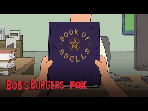 Tina Is Given A Book Of Spells | Season 7 Ep. 3 | BOB'S BURGERS
