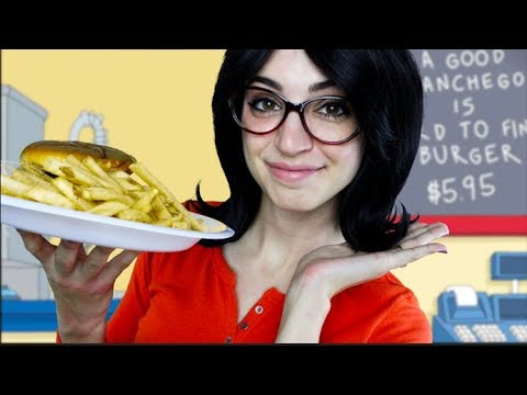 [ASMR] Eat At Bob's Burgers! (Linda Roleplay)