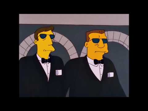 Homer And Ned Flanders Escape Las Vegas 2 - The Simpsons