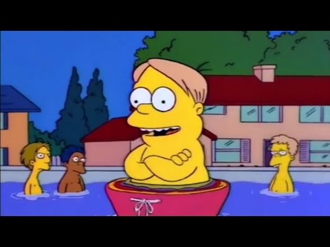 The Simpsons Get A Pool - The Simpsons