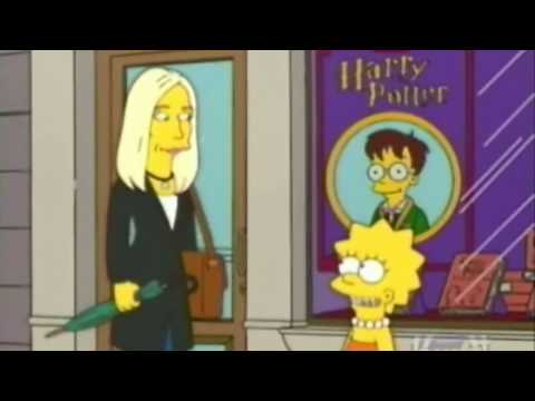 J.K Rowling on The Simpsons