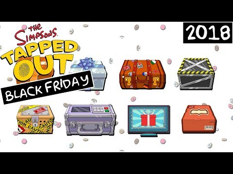The Simpsons: Tapped Out - Black Friday Update (2018)