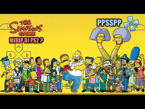 Cara Download Dan Install Game The Simpsons Game PPSSPP Android