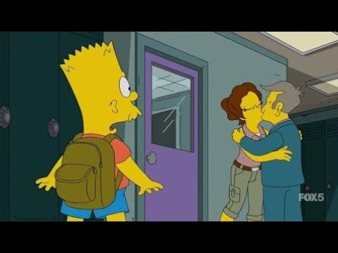 The Simpsons  -  Bart loves his new teacher