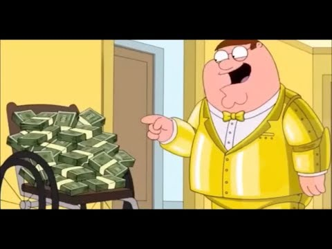 Peter Griffin Wins the Lottery - Family guy