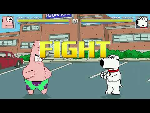 AN Mugen Request #1091: Patrick VS Brian Griffin