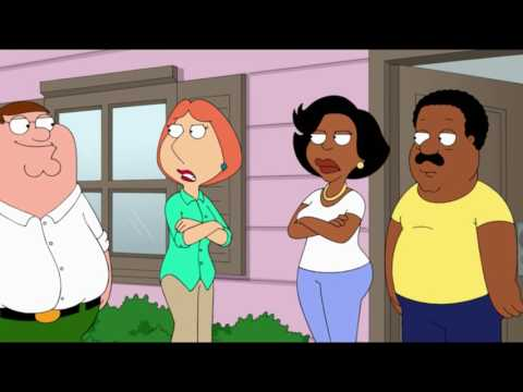 Family Guy - Lois fights Cleveland´s Wife