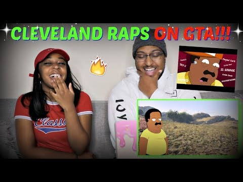 "Azerrz ""CLEVELAND BROWN RAPS ON GTA ONLINE!!!"" REACTION!!"
