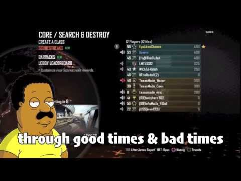 Cleveland Brown TROLLING in Black Ops 2 with Azerrz!