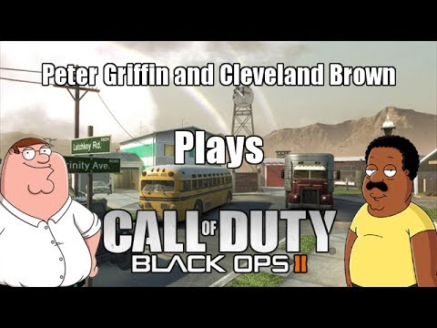 Peter Griffin & Cleveland Brown Plays Call of Duty Ft. Azerrz!