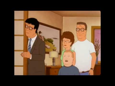 King of the Hill - The Hills don't understand Japanese hotels (S6Ep21)