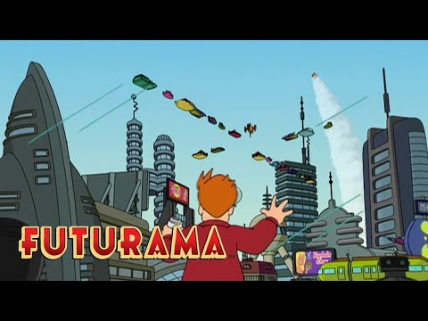 FUTURAMA | Season 1, Episode 1: Future Fry | SYFY