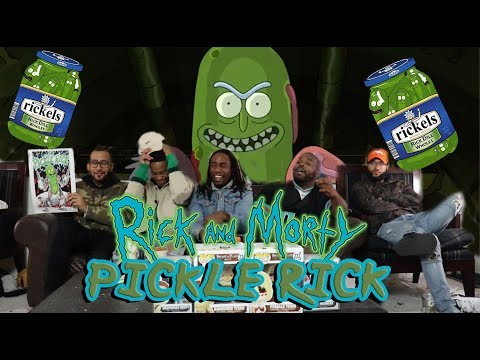 "Rick And Morty Season 3 Episode 3 ""Pickle Rick"" Reaction:Review"
