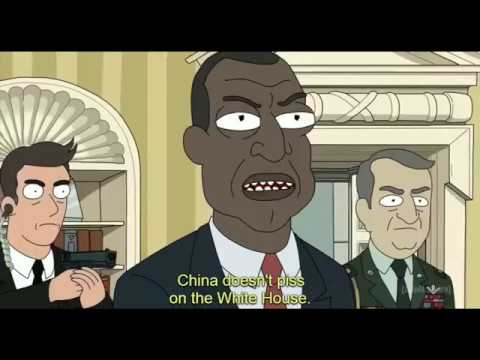 Rick And Morty FULL S03E10 Rick VS President Full Scene