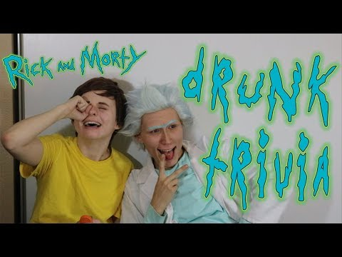 Rick and Morty | Drunk Trivia [Captain Bancho Cosplay]