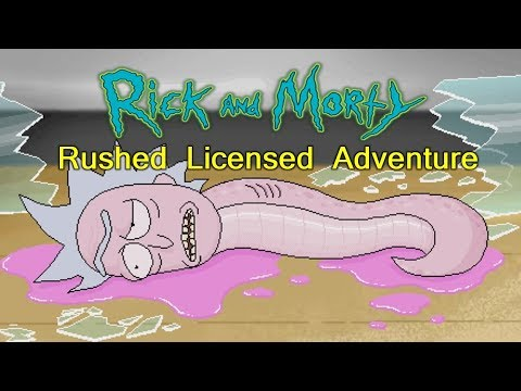 Rick and Morty's Rushed Licensed Adventure Full Walkthrough