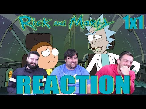 "Rick and Morty 1x1 - ""Pilot"" - REACTION!!!"