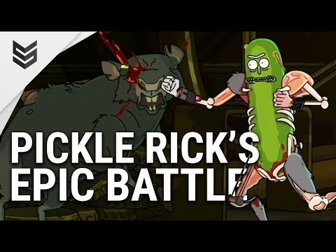 Rick and Morty - Pickle Rick's Epic Battle (season 3 episode 3)