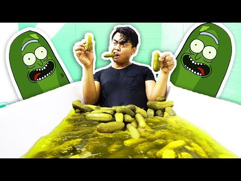 PICKLE BATH CHALLENGE!