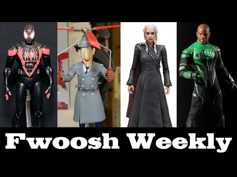 Weekly! Ep90: Iron Man, Pickle Rick, Dragon Stars, Green Lantern, Star Wars, Spider-Man, and more!
