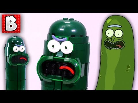 LEGO Pickle Rick!