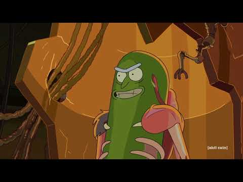 Pickle Rick - BFG Division
