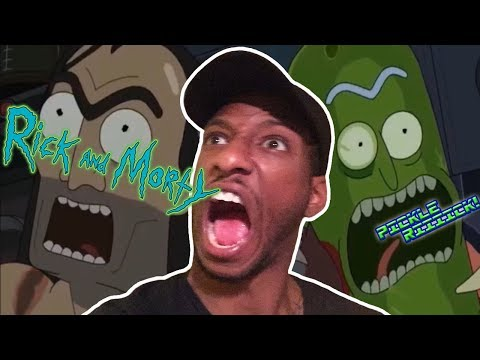 "Rick and Morty Season 3 Episode 3 ""Pickle Rick"" Live Reaction"
