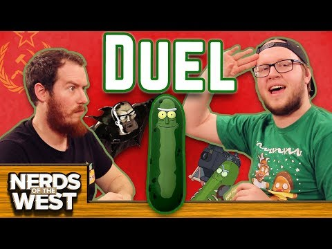 Slippery Pickles - Pickle Rick Duel!
