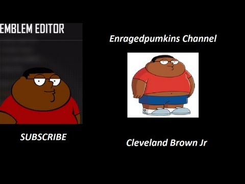 Black Ops 2 - Cleveland Brown Jr Emblem Tutorial
