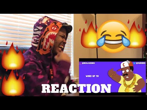 TOO LIT! REACTION - Azerrz - Cleveland Brown RAPS Modern Rap Songs! | 2017