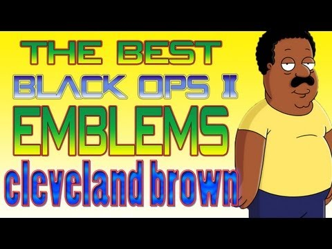 THE BEST BLACK OPS 2 PLAYERCARD EMBLEM | CLEVELAND BROWN