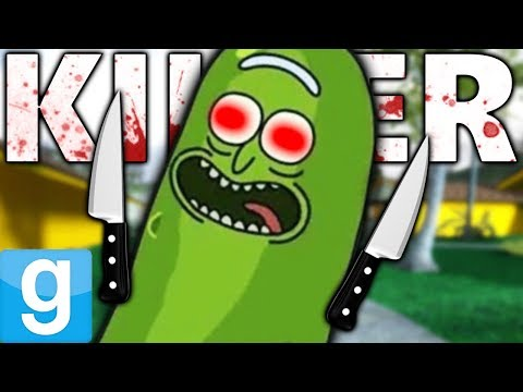KILLER PICKLE RICK DIMENSION?! | Gmod Sandbox Fun (Rick and Morty Mods)