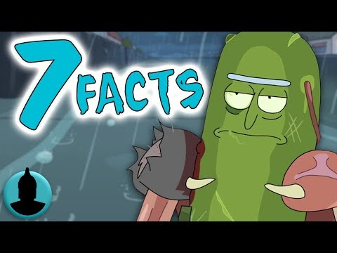 "7 Facts About Pickle Rick!! - Rick and Morty Season 3 Episode 3 ""Pickle Rick"" - (Tooned Up S4 E44)"