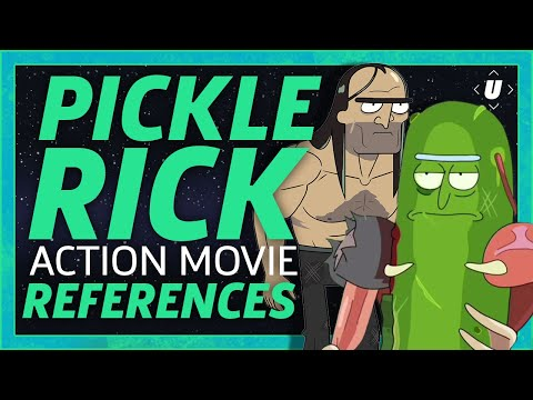 "Every Action Movie That Inspired ""Pickle Rick"" 