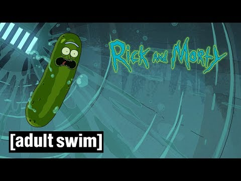 Sneak Peek: Pickle Rick Sewer Escape | Rick and Morty | Season 3 | Adult Swim
